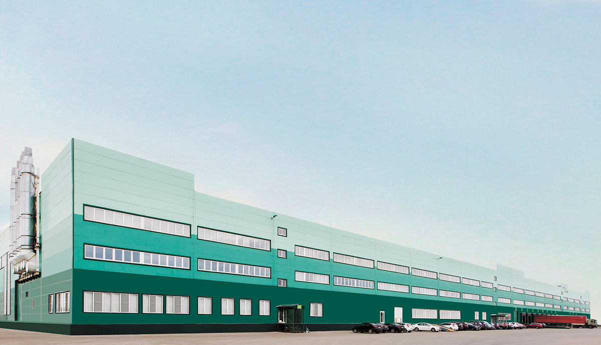 Production building of Multiflex Company