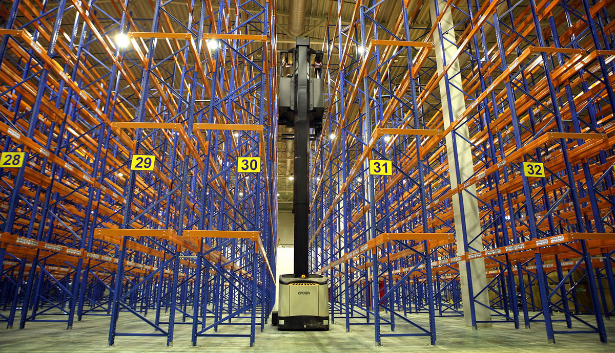 Warehouses are ready to move